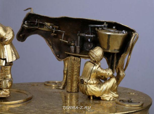Уникальные механические стационарные часы. Польша, 1575-1585
