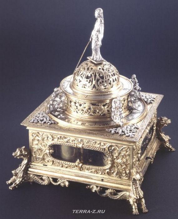 Уникальные механические стационарные часы. Голландия, 1612