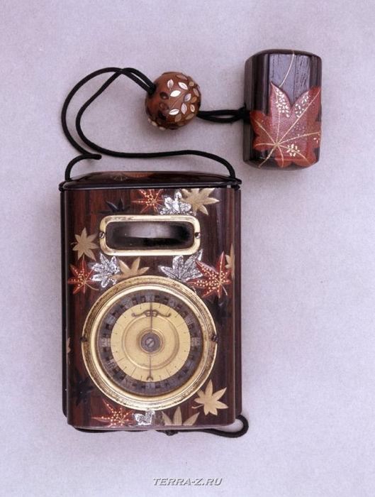 Уникальные механические стационарные часы. Япония, 19 век