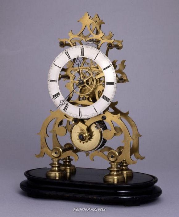 Уникальные механические стационарные часы. Лондон, 1855-1865