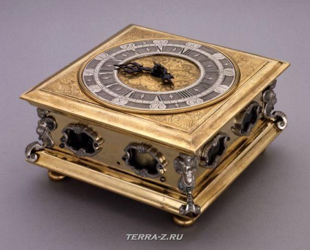 Уникальные механические стационарные часы. Аугсбург, Германия 1630-1635