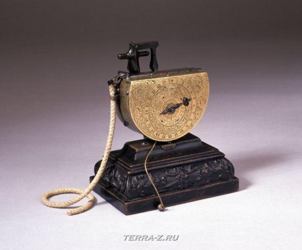 Уникальные механические стационарные часы. Германия, 1595-1605