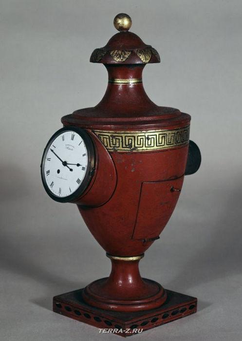 Уникальные механические стационарные часы. Англия, 1805-1815