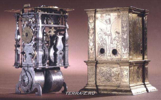 Уникальные механические стационарные часы. Германия, 1526-1575