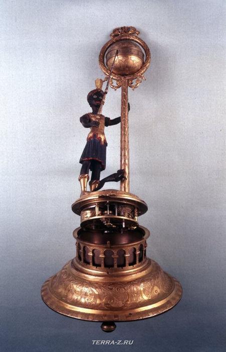 Уникальные механические стационарные часы. Аугсбург, Германия , 1620-1630