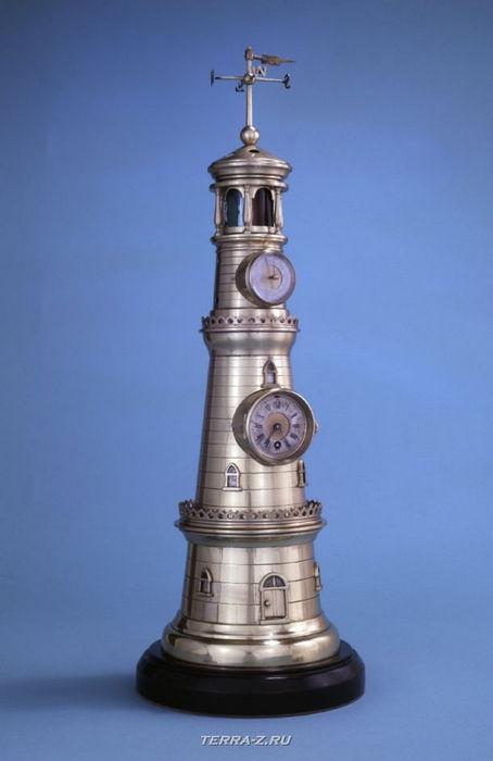 Уникальные механические стационарные часы. Франция, 1875-1885