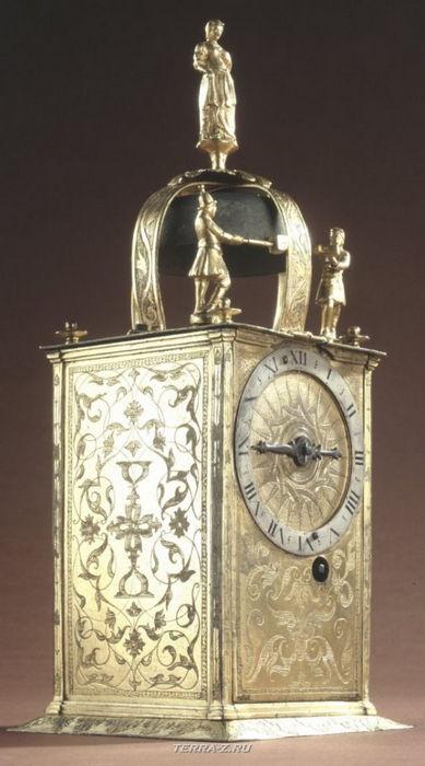 Уникальные механические стационарные часы. Голландия, 1526-1575