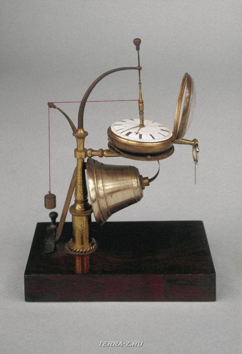 Уникальные механические стационарные часы. Англия, 1835-1845 гг.