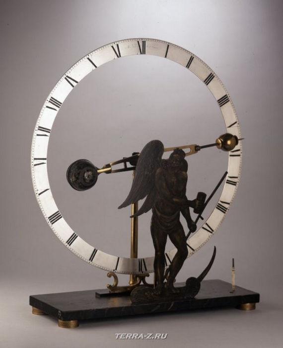 Уникальные механические стационарные часы. Австралия, 1835-1845