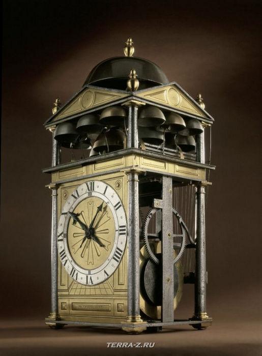 Уникальные механические стационарные часы. Лондон, 1598