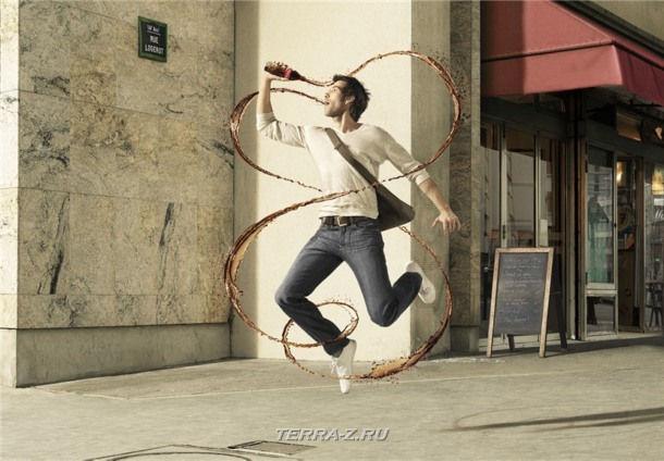 Феерический креатив от Romain Laurent