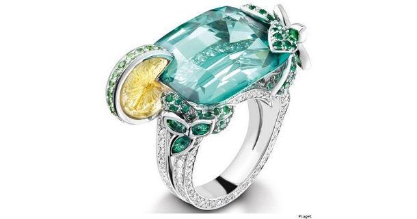 Коктейльные кольца Piaget