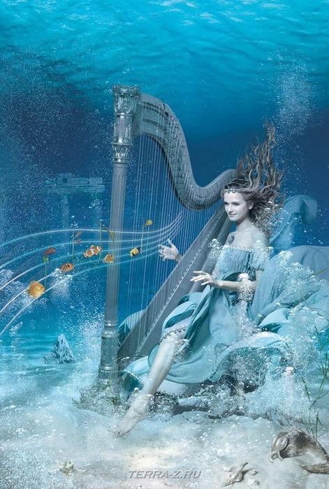 underwater music Олеся Михайлова (Danapra)