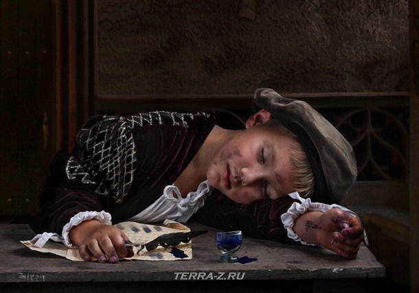 Детский портрет от Анны Беркоз (Siren)