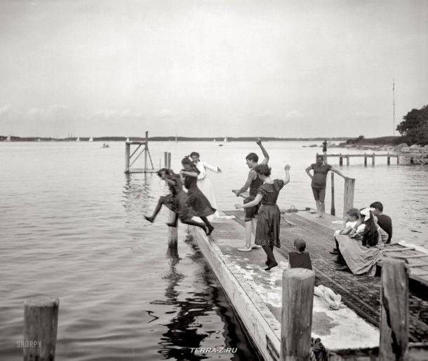 Остров Шелтер, Нью-Йорк, около 1904 года