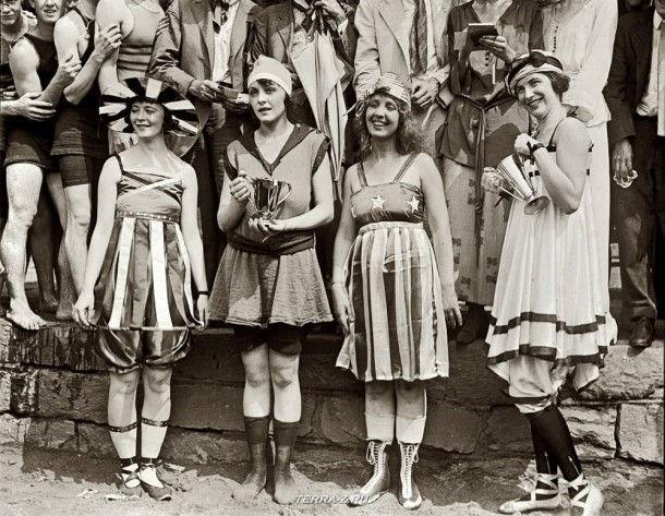 26 июля 1919. Вашингтон, округ Колумбия. Конкурс купальных костюмов