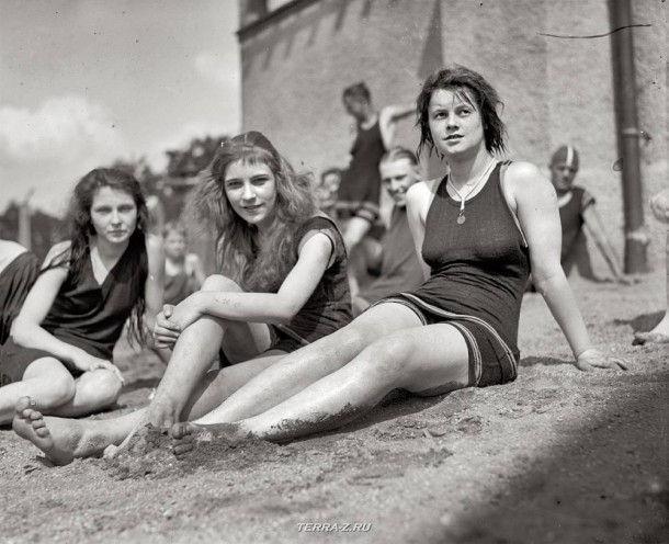 """Вашингтон, округ Колумбия, 1922. """"Пляж Потомак"""""""