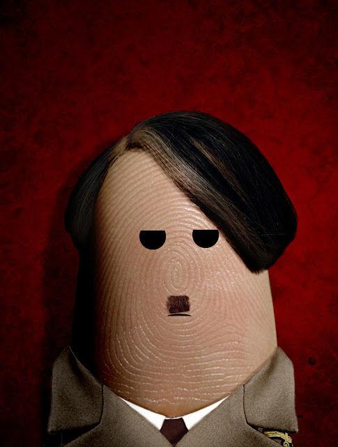 Портреты на пальцах от Dito Von Tease