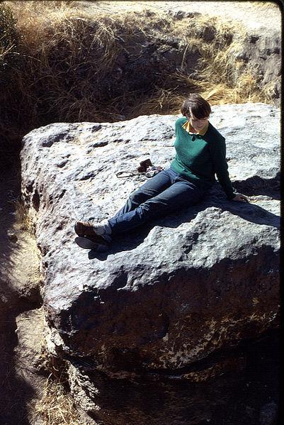Метеорит Гоба в 1967 году