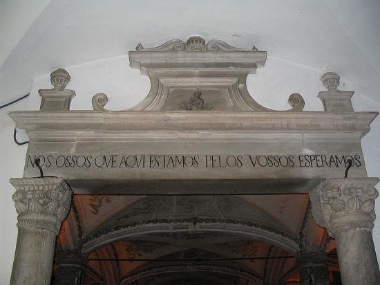 """Capella dos Ossos"" - Капелла Костей (Эвора, Португалия)"
