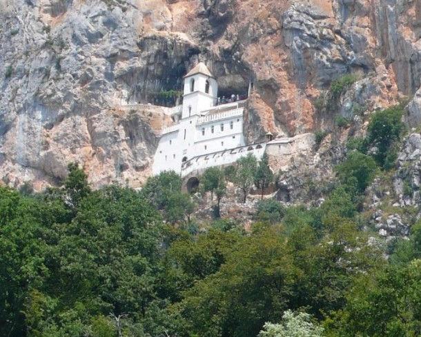 Монастырь Острог (Черногория)