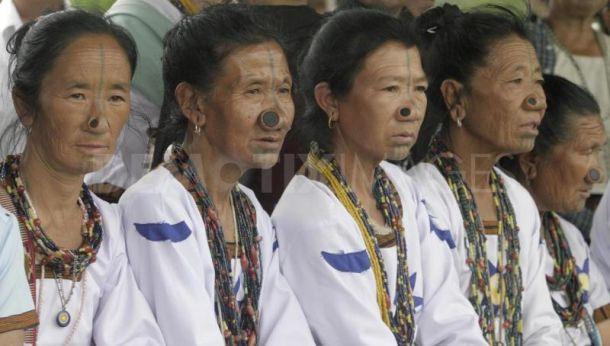 Племя Апатани – народ с бамбуком в носу