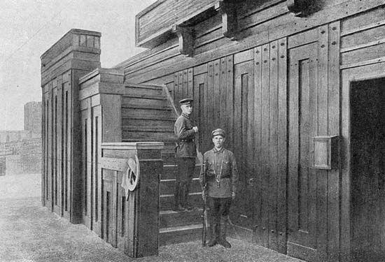 Второй деревянный мавзолей
