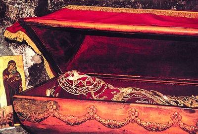 Монастырь Острог (Черногория), мощи Василия Острожского