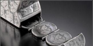 Скульптуры из монет от Стейси Ли Веббер