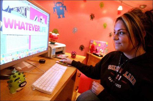 Самая юная интернет-предприниматель Ashley Qualls (Эши Куолс)