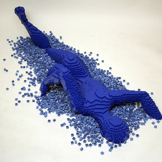 "Скульптуры из конструктора ""LEGO"" от Nathan Sawaya"