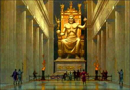 Статуя Зевса в Олимпии, реставрация