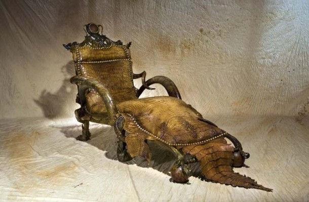 Звериная мебель от Michel Haillard