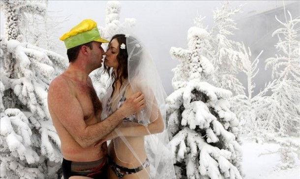 "Свадьба ""моржей"""
