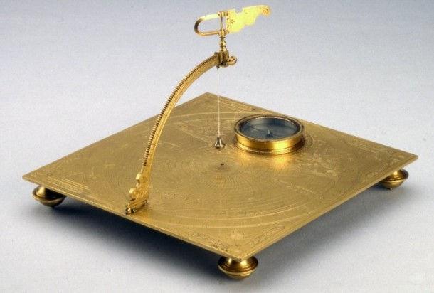 Необычные солнечные часы из коллекции Британского музея