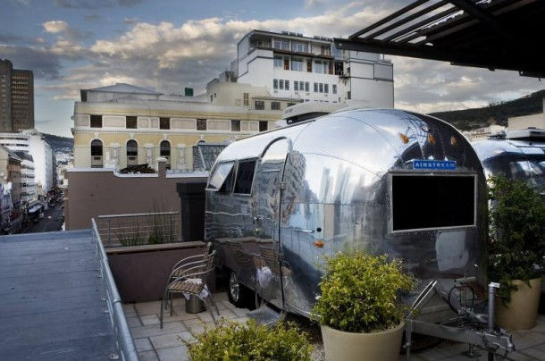 """Необычные отели - """"Airstream Penthouse"""" (Кейптаун, ЮАР)"""