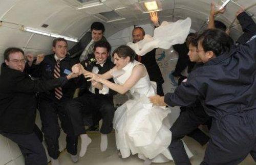 Свадьба в невесомости