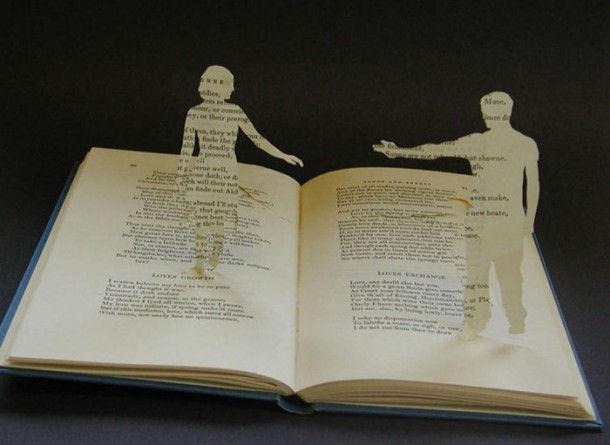Книжные скульптуры от Su Blackwell (Су Блэквелл)