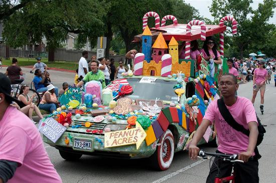 """Парад художественных автомобилей """"Art Car Parade"""" (Хьюстон, США)"""