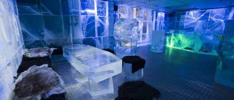 Ishotell: ледяной отель (Швеция)