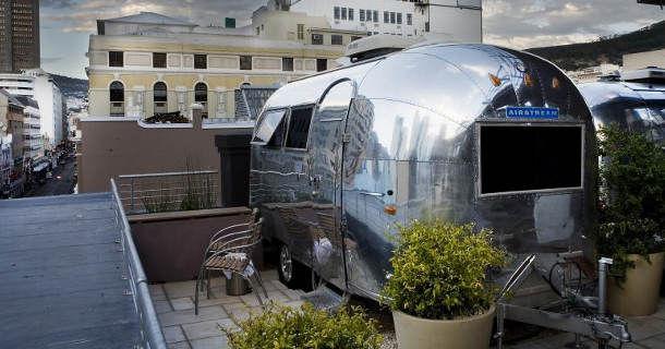 """Необычные отели - """"Airstream"""""""