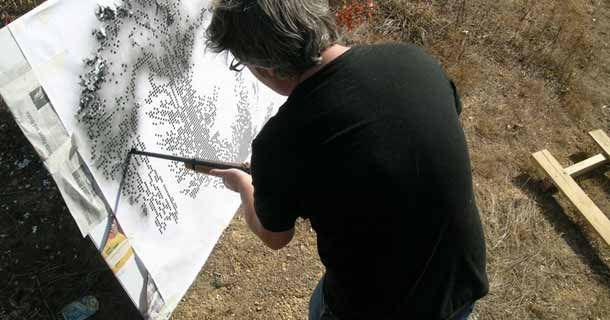 Стреляющий художник Walton Creel (Уолтон Крил)