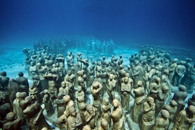 Музей подводных скульптур (Мексика)