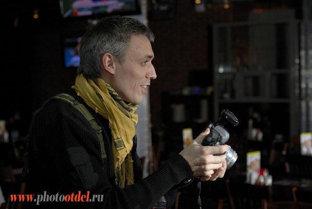 Сергей Востриков, автопортрет