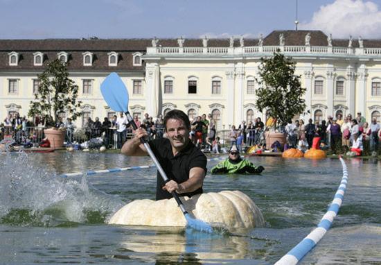 Заплывы на тыквах (Германия, Людвигсбург)