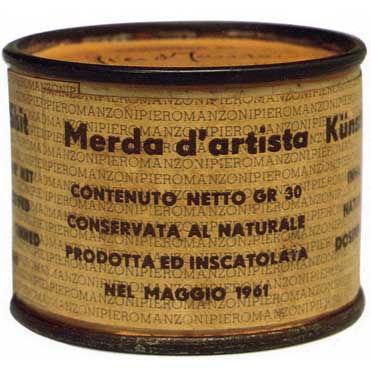 """""""Дерьмо художника"""" как измеритель современного искусства (Piero Manzoni, 1961)"""