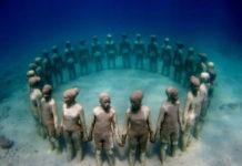 Музей подводных скульптур (Канкун, Мексика)