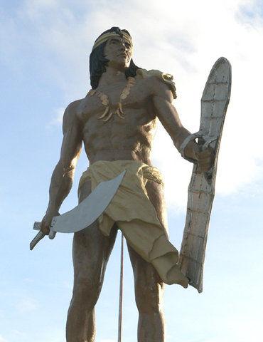 Монумент вождю Лапу-Лапу, убившего Фернана Магеллана