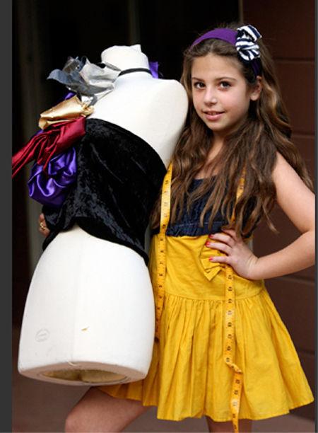 Сессилия Кассини – 10-летняя кутюрье