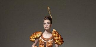 Одежда из продуктов питания от Ted Sabarese (Тед Сабарезе)